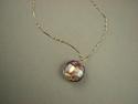 Shelia Logan Designs, Necklace , women, venetian glass, 14kt. gold chain, (thumbnail)