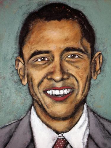 Obama by Stacy Govi