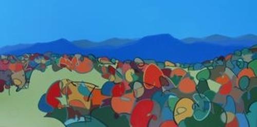 Autumn in Blue Ridge Moutains