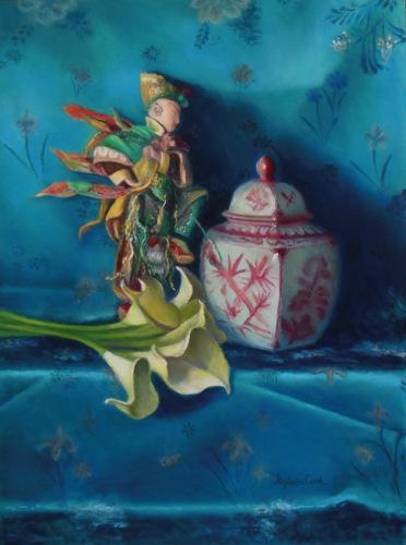Chinese Figurine by Stephanie Cook Fine Art