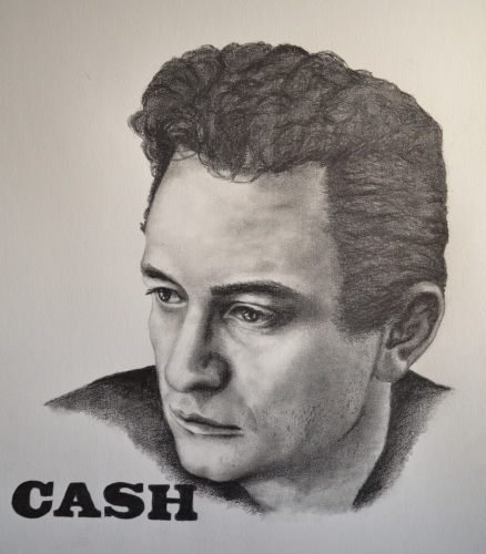 Cash by Custom Art By Rhea