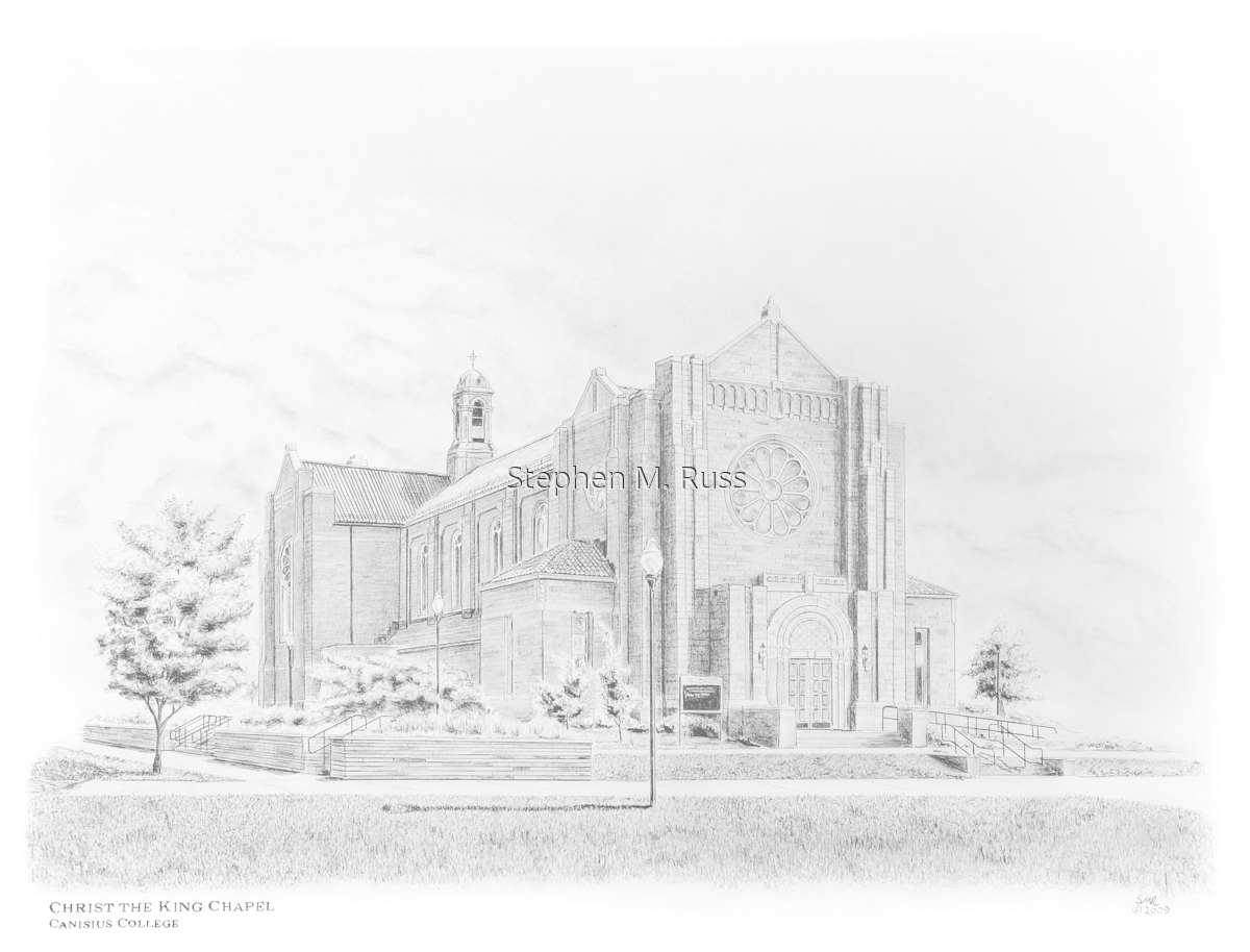 Christ the King Chapel at Canisius College (large view)