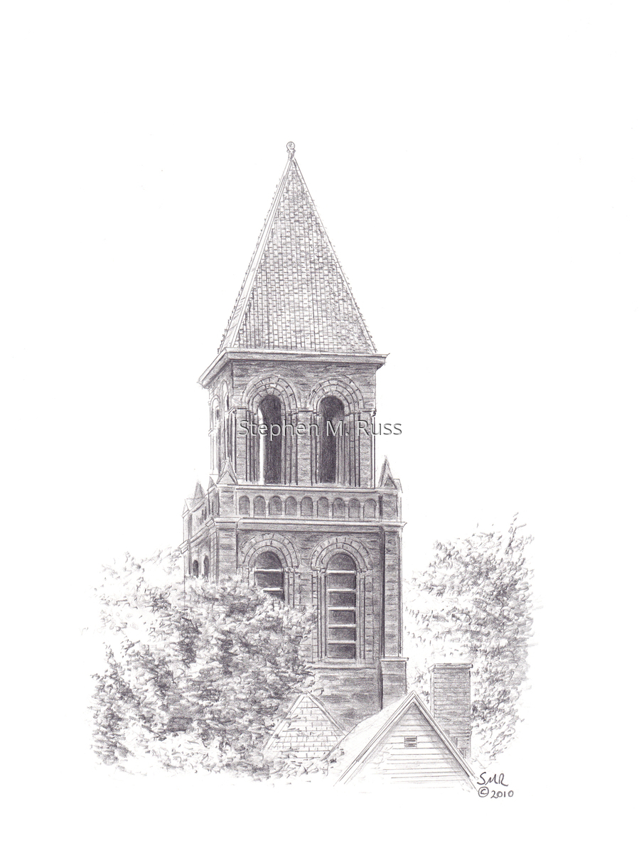 Bell Tower at Lafayette Ave. Presbyterian Church (large view)