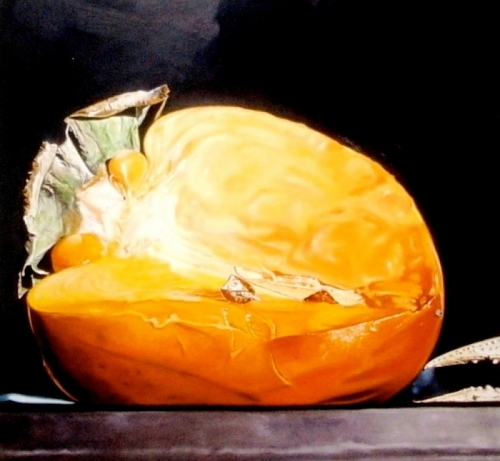 Persimmon, Berry and Crawfish Claw by Stephanie (Wooster) Ballard | Artist