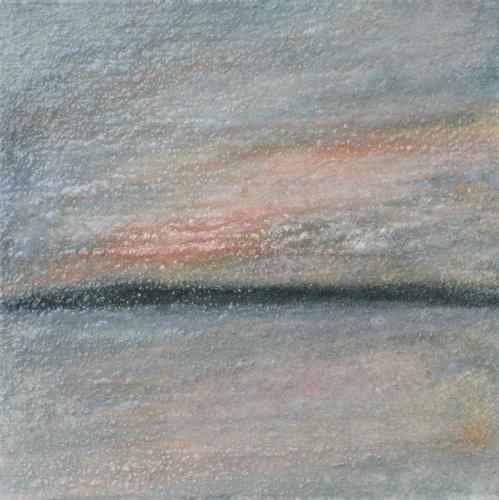 Mixed Media-On Canvas-Summer Sunset 2