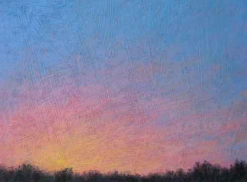 Painting-Pastels-Montclair Sunrise 2