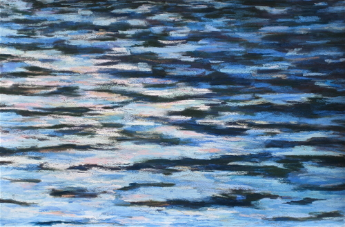 Painting-Pastels-Water Pattern