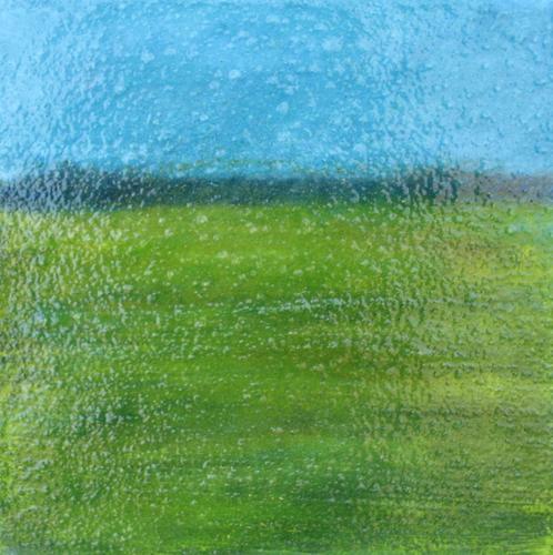 Aqua Sky by Stefanie Silverman