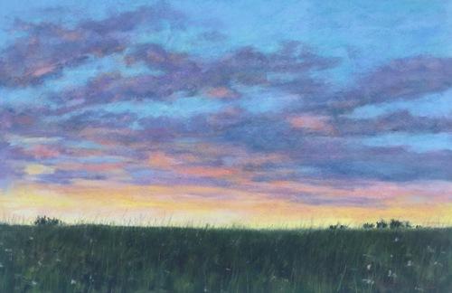 Summer Sunset, Gwynedd Preserve