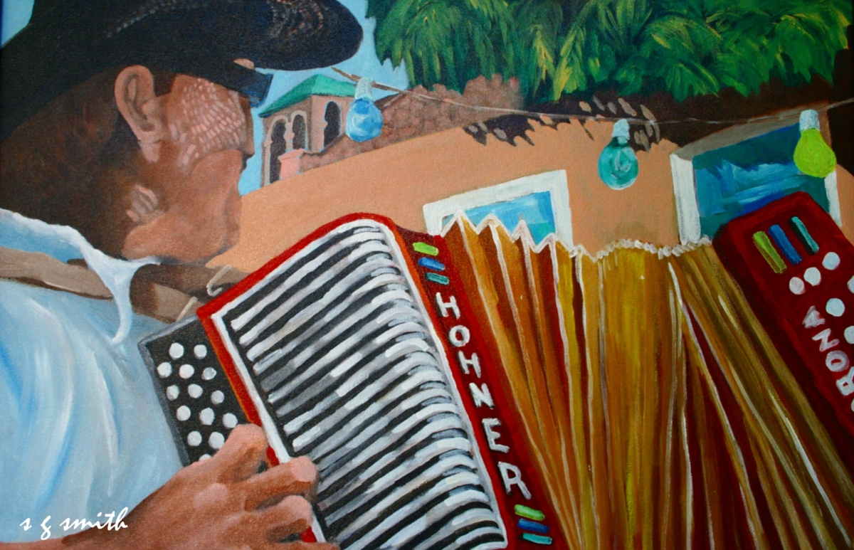 Tejano Accordion (large view)