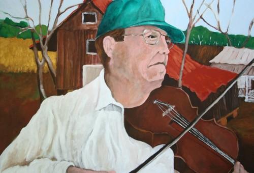 Cajun Fiddler (large view)