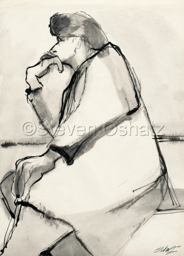 Contemplation by Steven Oshatz