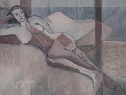 Mauve Nude
