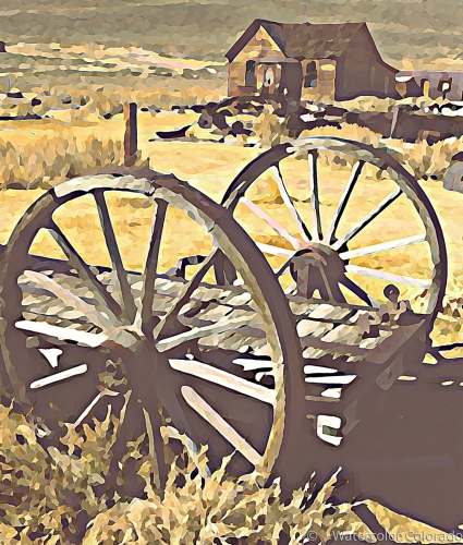 Wagon Wheels of the Old West