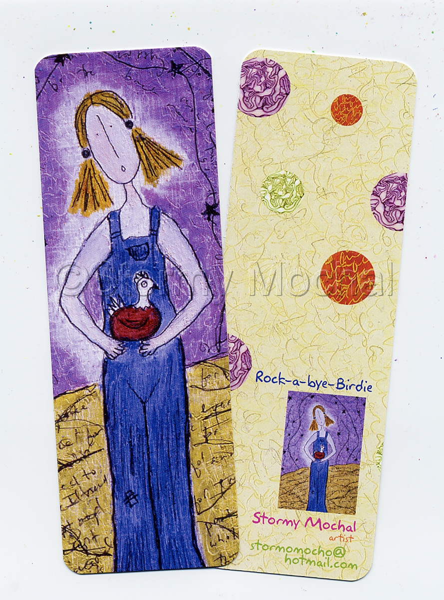 Mark your place in your favorite book with this fun bookmark (large view)