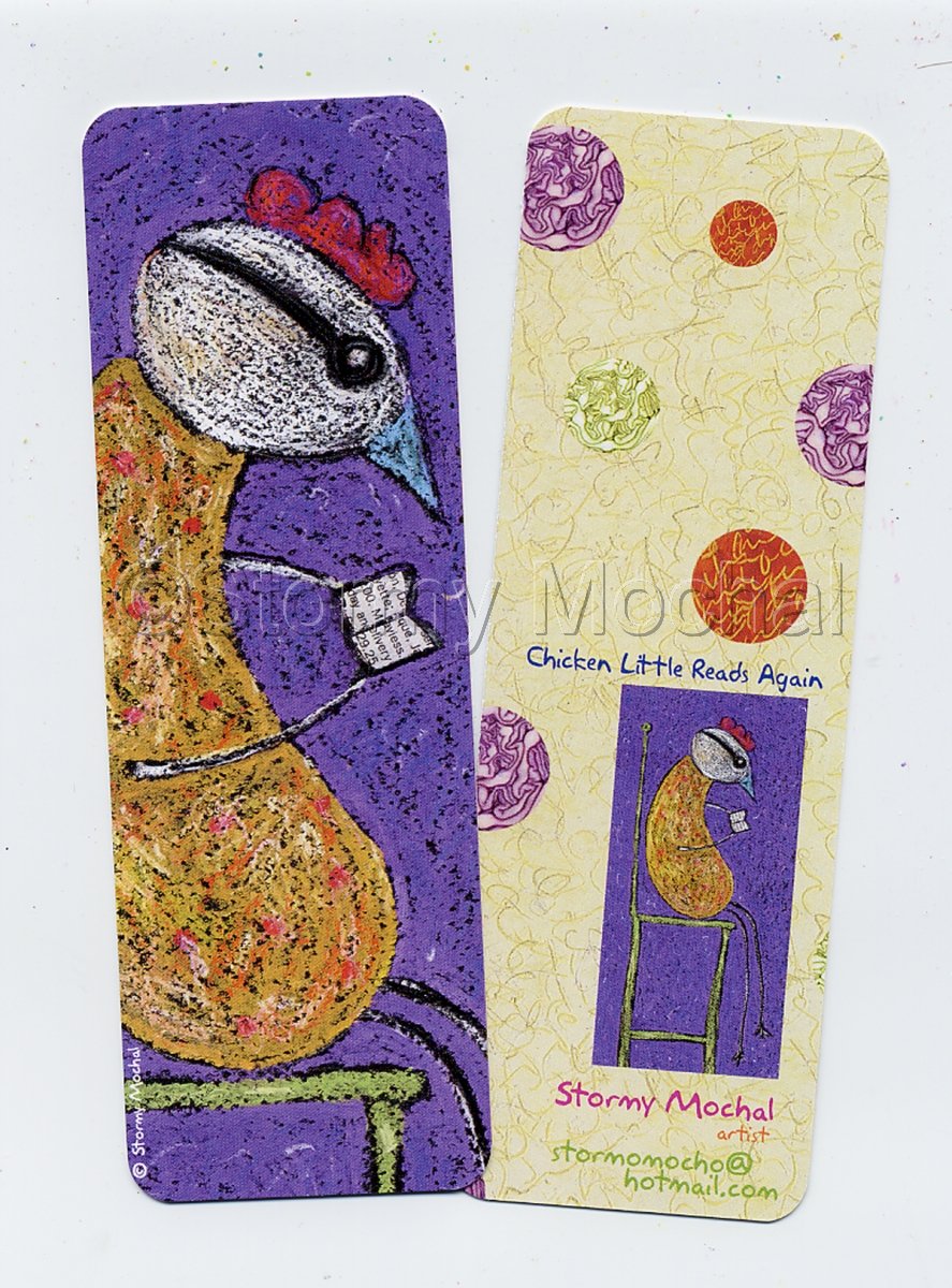 Mark your place in your favorite book with this fun bookmark. (large view)