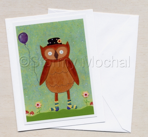 Whoose Got Cold Feet Greeting Card