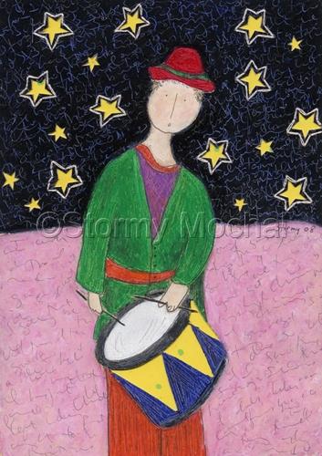 Drummer Boy by Stormy Mochal