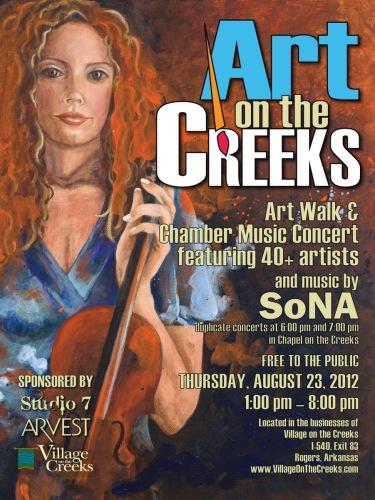 Art on the Creeks 2012