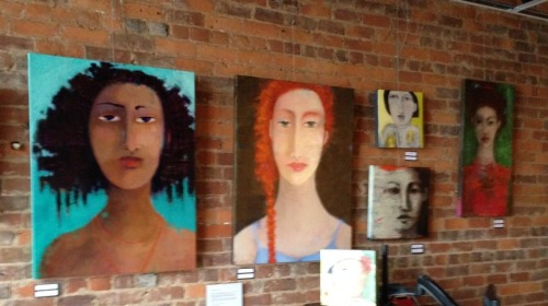 Face Off - Woman 2 Woman - art by Beth Myers