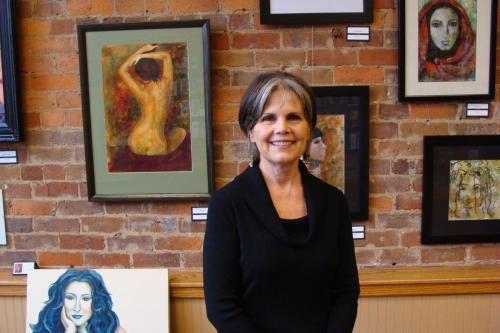 Face Off - Woman 2 Woman - art by Marcia Davis