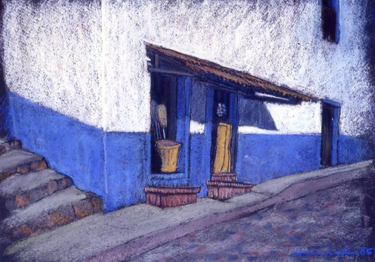 Street Scene, Puerto Vallarta, Mexico (large view)
