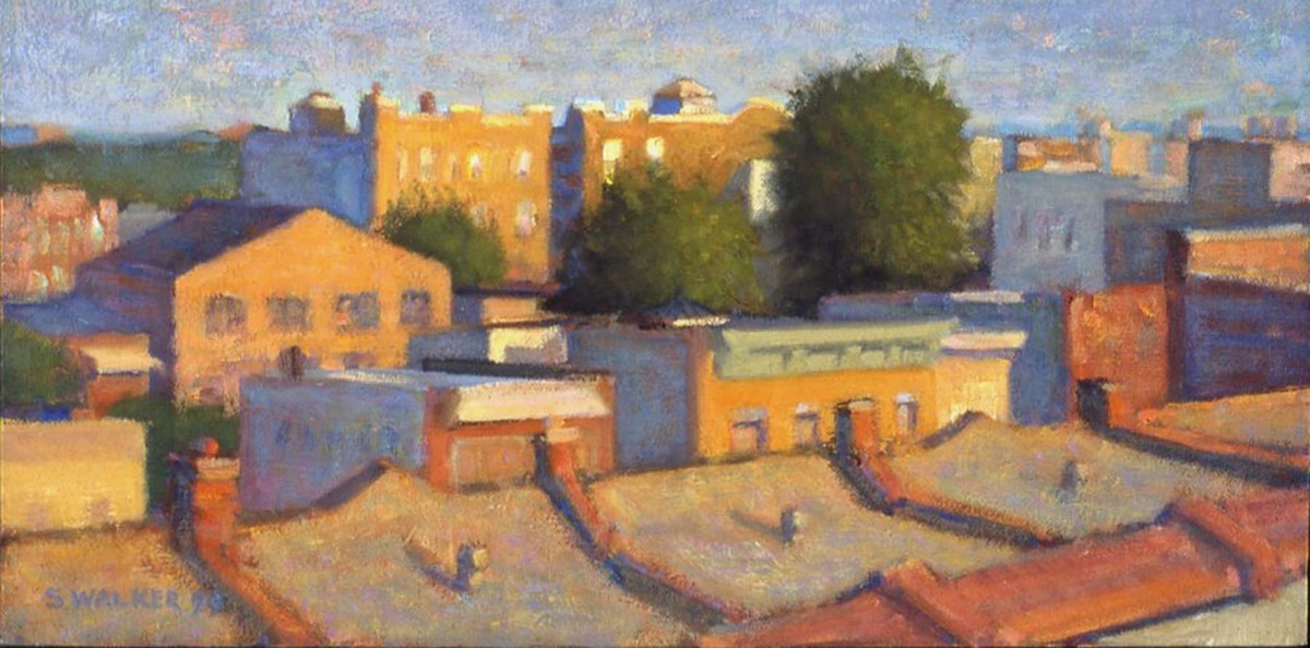 Evening Roofscape, Southeast (large view)
