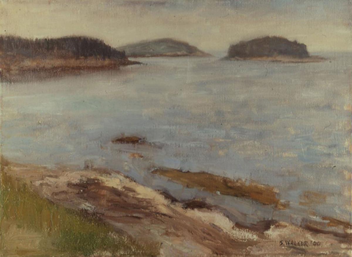 Islands, Sebasco Harbor, Maine (large view)
