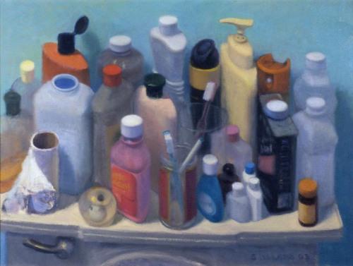 Products on the Toilet Tank by Steven E. Walker Fine Art