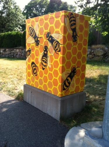 Honeybees (large view)