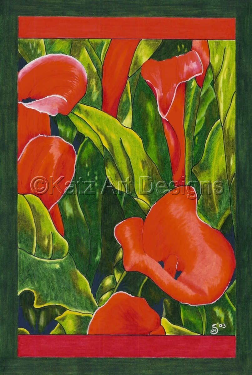 Red Trumpets (large view)