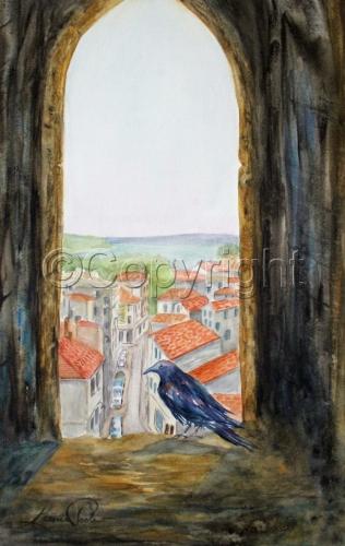 Le Corbeau et la ville