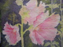 Hollyhocks (thumbnail)