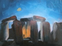 Quick Draw Sketch - Stonehenge (thumbnail)
