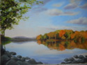 View over the lake in Autumn (thumbnail)