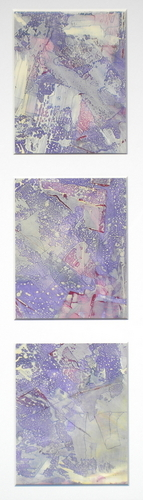 Space Map (Triptych) (SOLD)