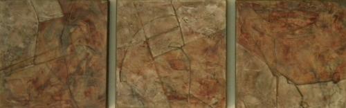 Mist Map 1-3 (Triptych)