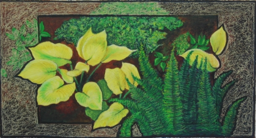 Yellow Spots by Susanjohnson-artoregon