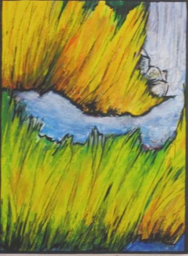 Windblown Grasses II