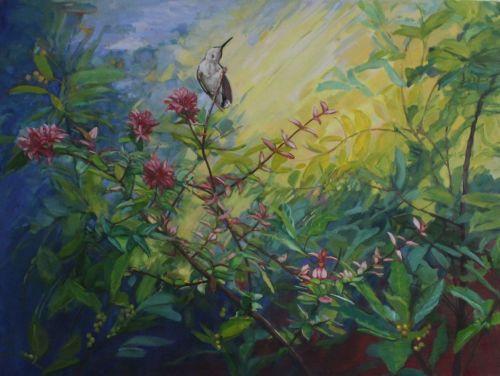 Hummingbird Reveling II
