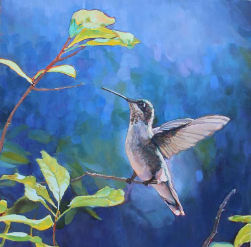Hummingbird ArrivingII