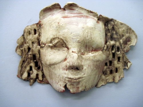 Mask, artifcat, ancient, burial  (large view)
