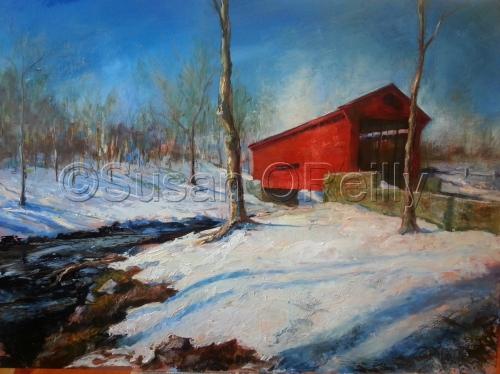 Goshen Bridge by SUSAN O'REILLY STUDIO