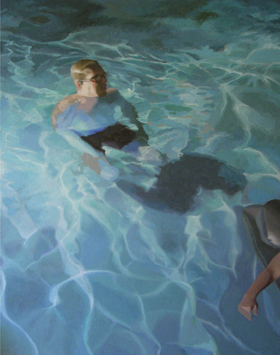 Bathers Evening 2 by Susan Calace-Wilklow