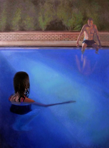 Bathers Evening by Susan Calace-Wilklow