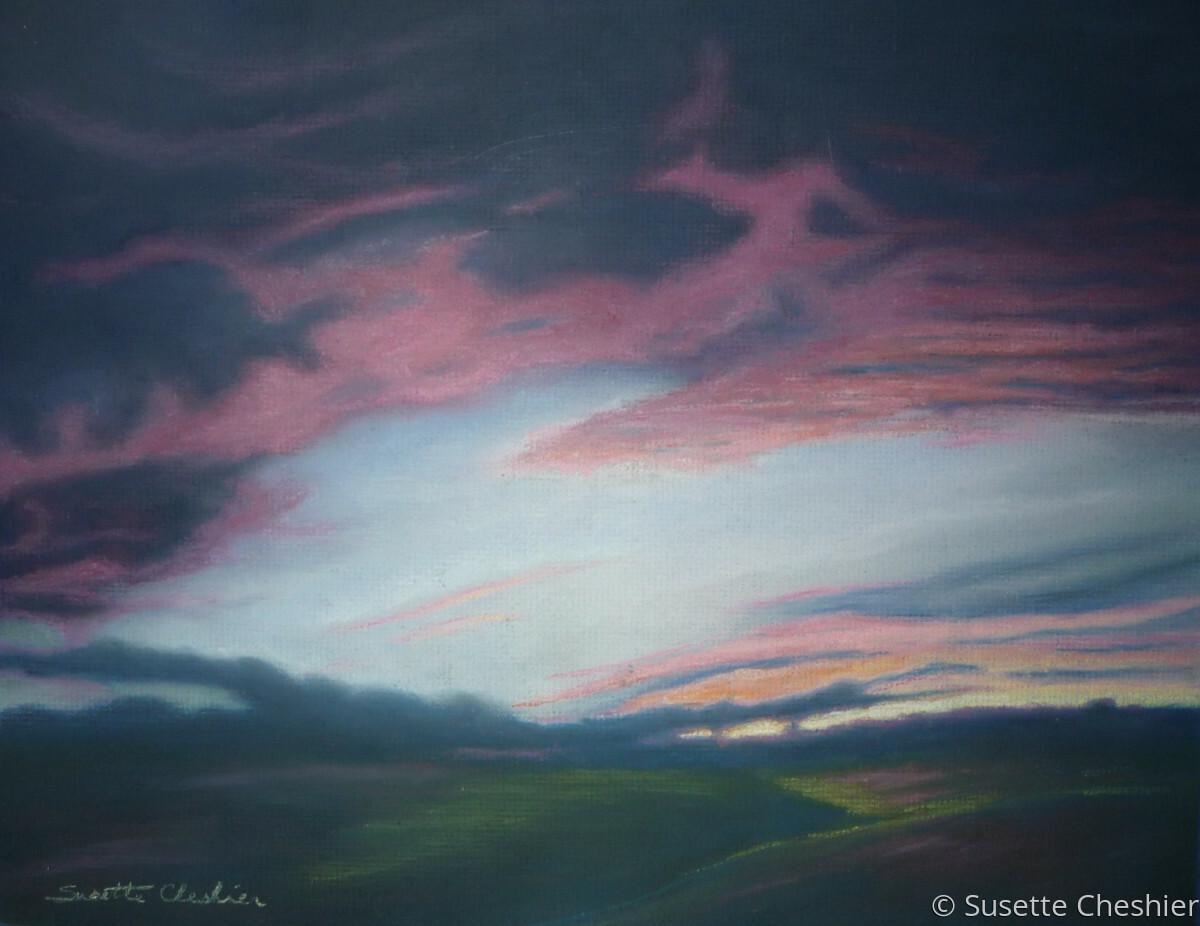 Ellensburg Sunset (large view)