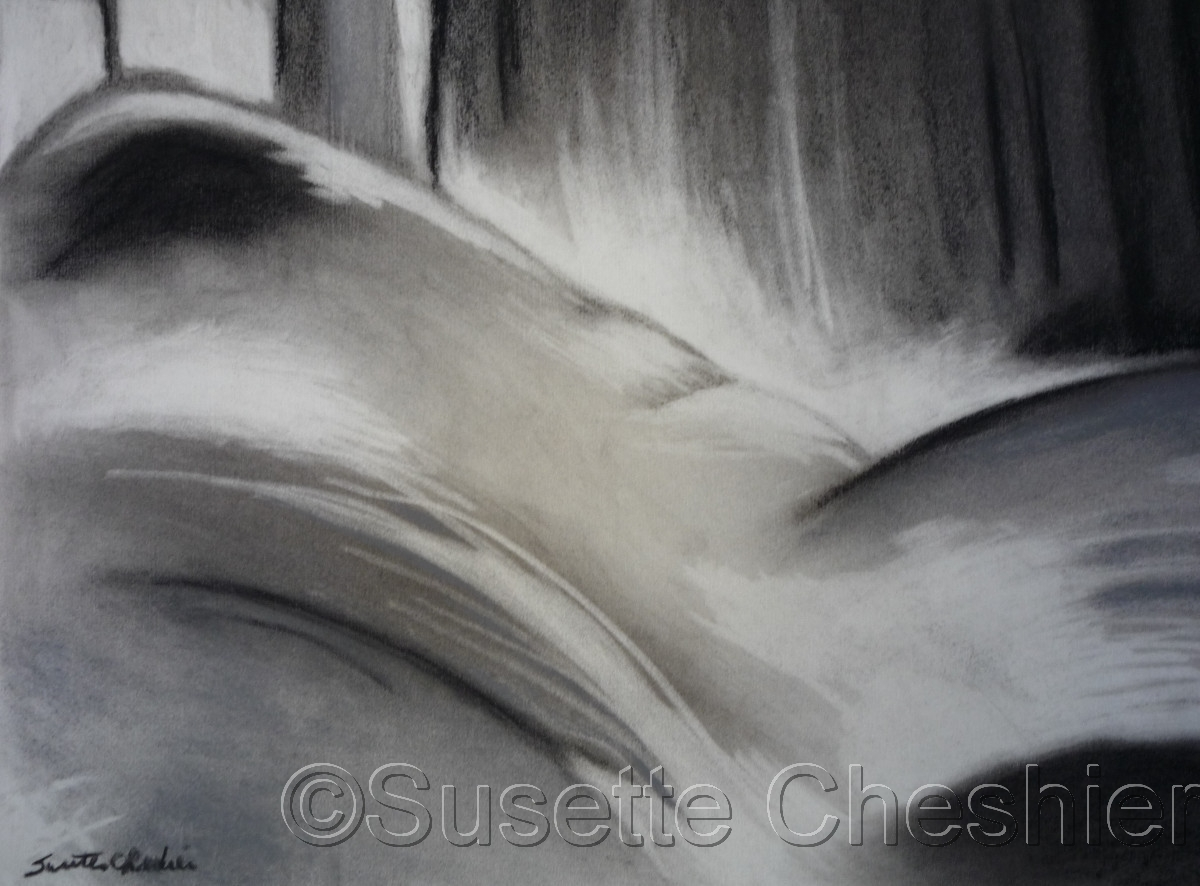 Abstract Charcoal on Paper No.2 (large view)