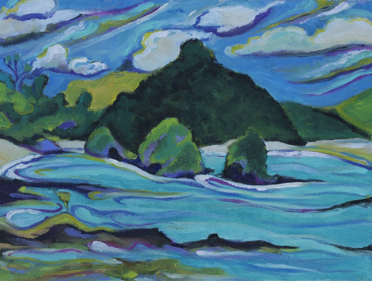 Maori Bay Islands (large view)