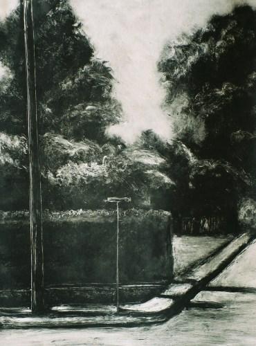 Corner of Hawthorne Street