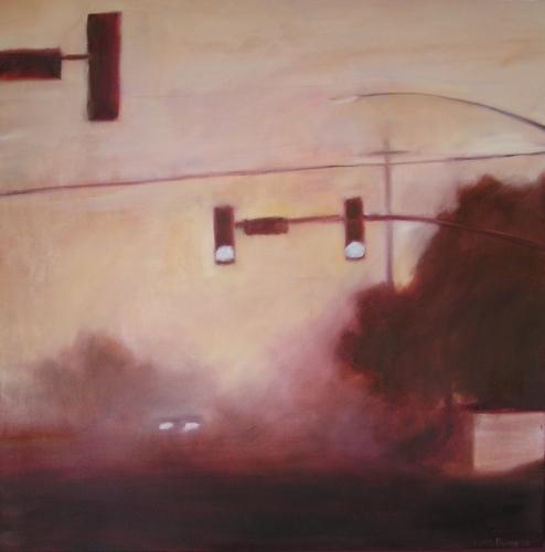 Traffic Light Series #10 by Susan Rider